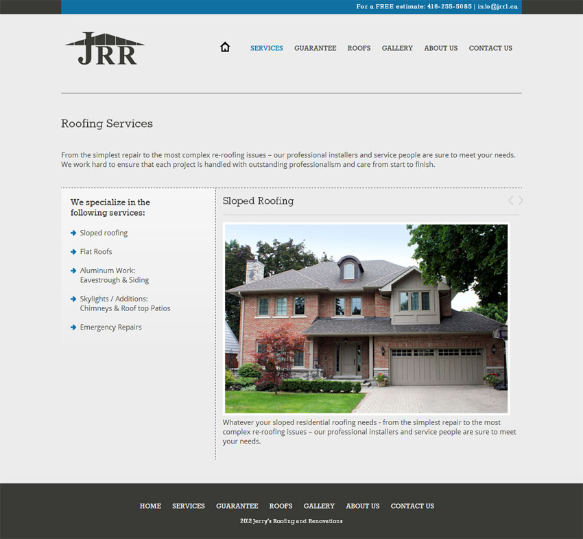 Jerry's Roofing and Renovation