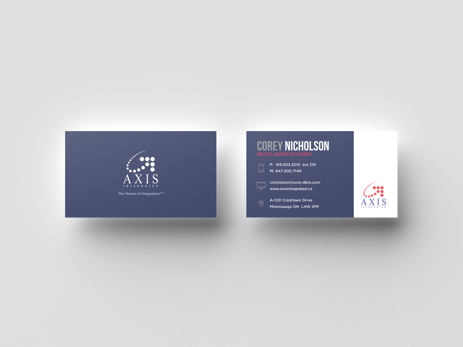 AXIS Business Card